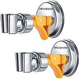 Adjustable Shower Head holder, Bathroom Suction Cup Handheld Shower head Bracket, Removable Handheld Showerhead & Wall Mounte
