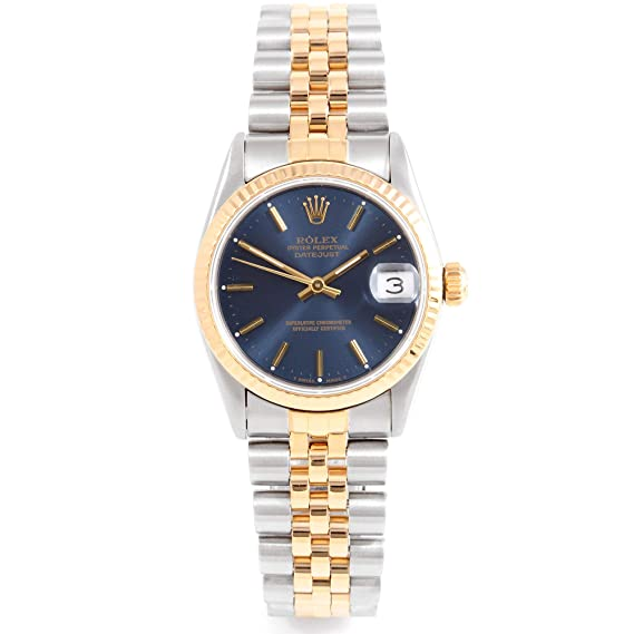 39cc8211bc4 Image Unavailable. Image not available for. Color: Rolex 68273 Ladies/Mens  31mm Datejust ...