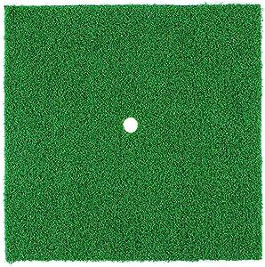 Golf Practice Mat Chipping Home Office Exercise tting Pad Beginner Grass Backyard Portable Training Aids Garden Putting Indoor Outdoor Accessories(Short Grass)