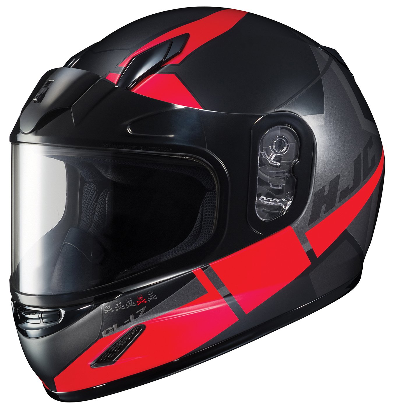 HJC Helmets Unisex-Child Full-face-Helmet-Style CL-YSN Boost Dual Lens MC-5SF Medium