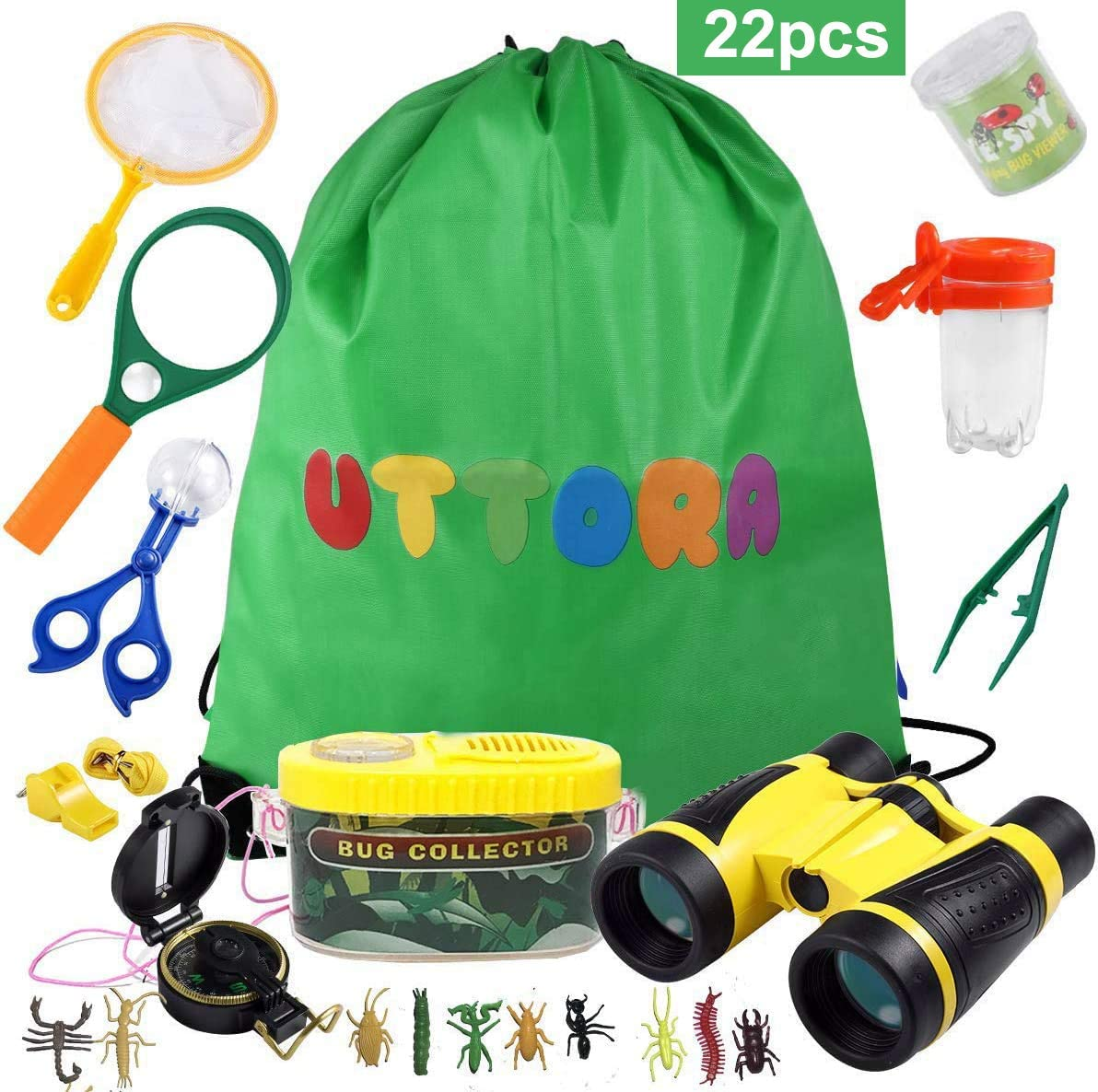 UTTORA Outdoor Explorer Kit (22 PCS) WAS £15.99 NOW £9.59 with 40% voucher on listing @ Amazon
