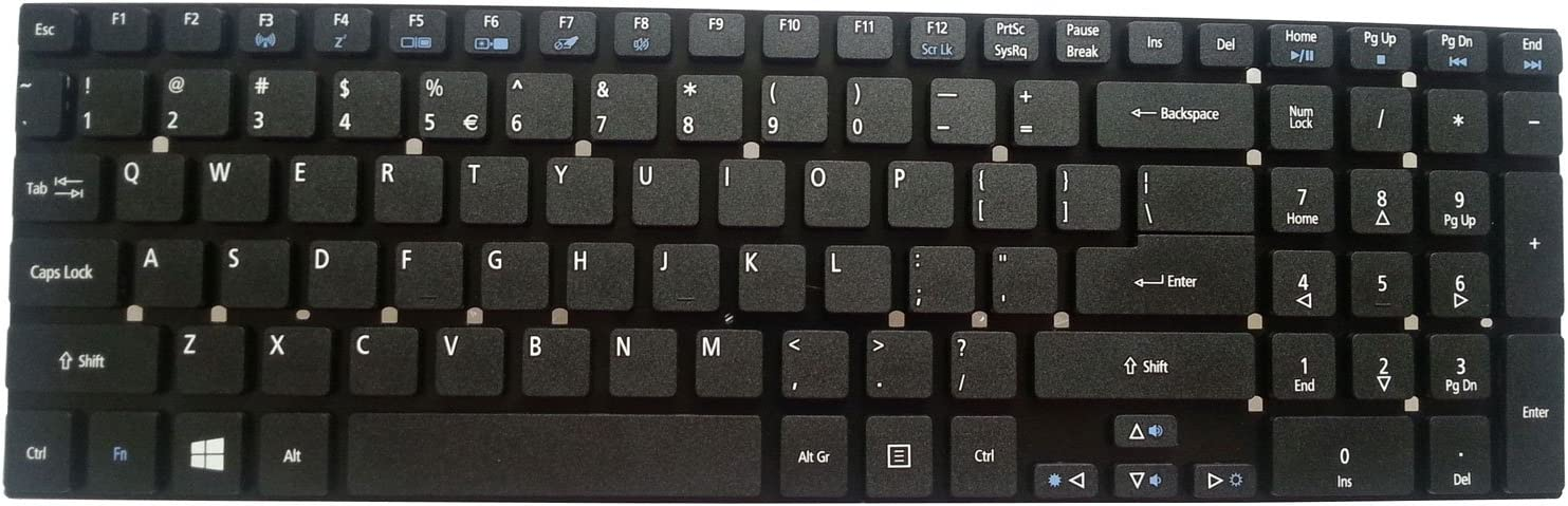 Notebook Keyboard for ACER Aspire E1-570 E1-572 E1-731 E5-571 US Black keypad