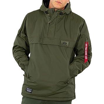 hot sales 21e95 4483f Alpha Industries Herren Winterjacke WP Anorak, Farbe:Dark Green, Größe:3XS