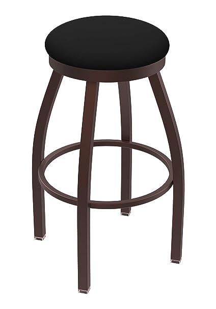 80236bzblkvinyl 802 Misha Bar Stool 36 Seat Height Black Vinyl Kitchen Dining