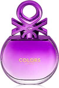 United Colors of Benetton Colors Purple For Women Eau De Toilette, 80 ml
