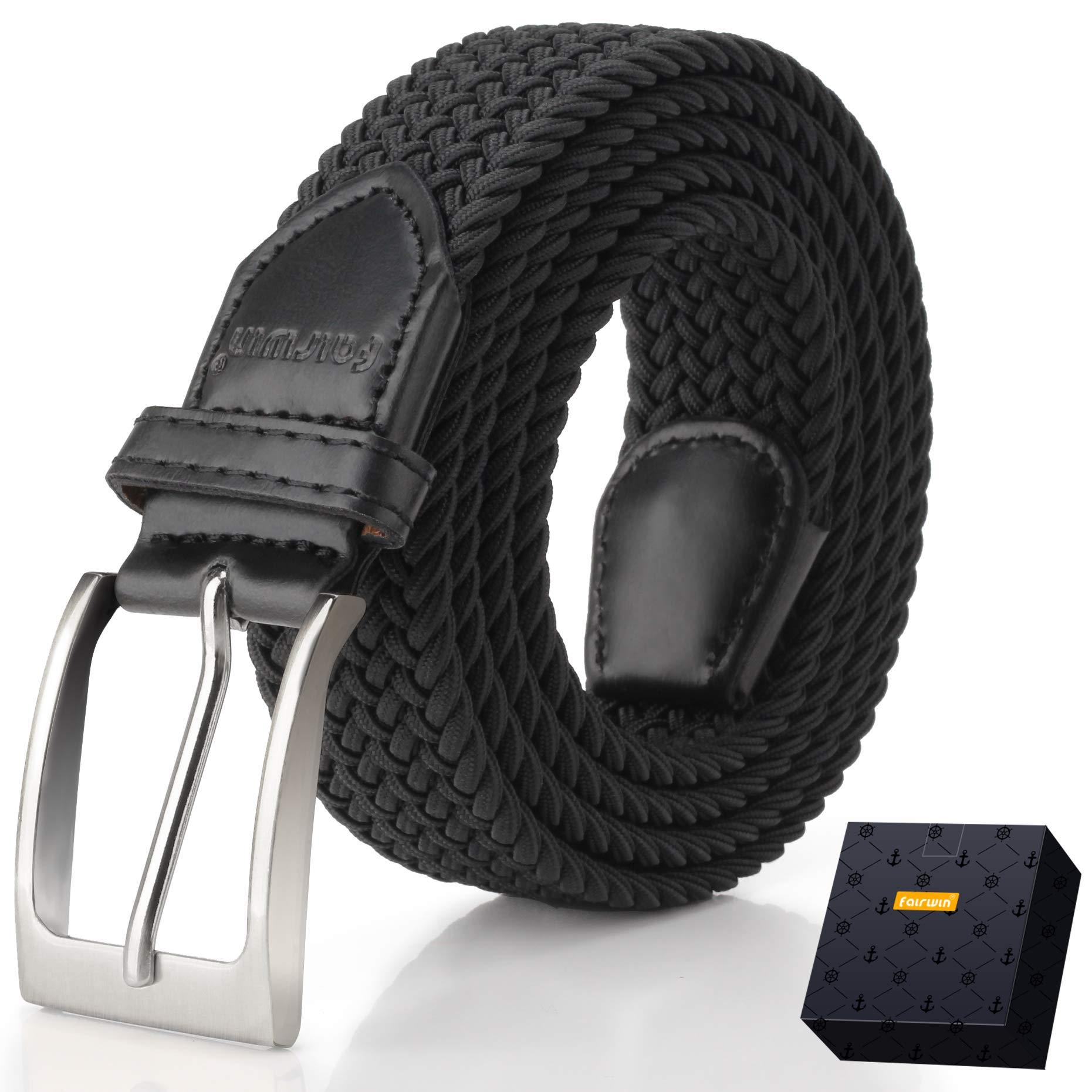 2b9cf7629 Elastic Braided Belt, Fairwin Enduring Stretch Woven Belt for Men/Women/Junior  product