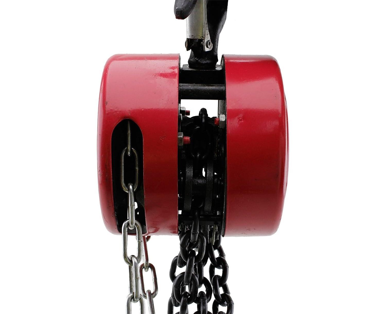 2000 kg polea rolloworld gr/úa montacargas 2,5 M de cadena