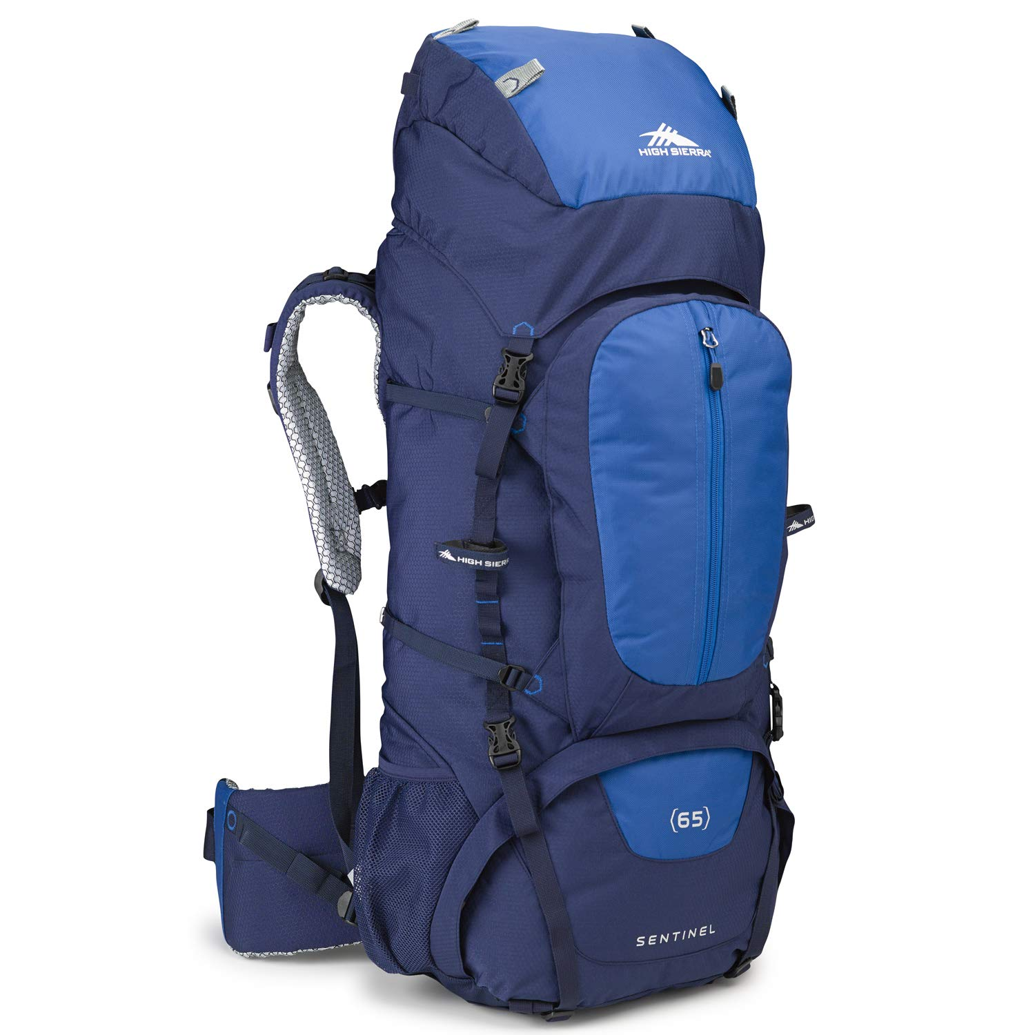 with Rain Fly High-Performance Pack for Backpacking High Sierra Sentinel 65L Top LoadBackpack Pack Camping Hiking