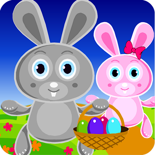 CUTE Bunny Adventure Game For Kids Barbie Colouring Games