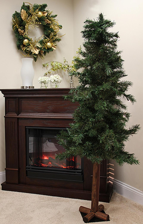 Pre Lit Alpine Christmas Trees