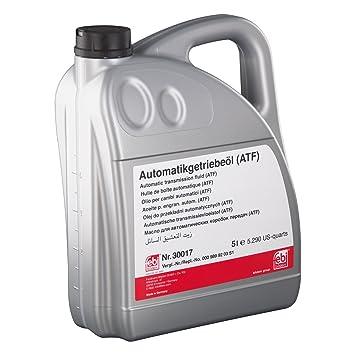 Febi Bilstein 30017 - Aceite para cambio automatico, 5 litros: FEBI BILSTEIN: Amazon.es: Coche y moto