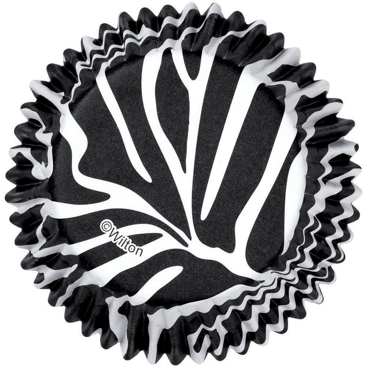 Wilton Zebra Standard Baking Cups 75 Count