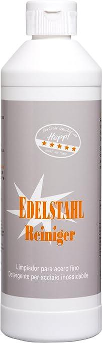 Hepp Gmbh Co Kg Edelstahl Reiniger 500 Ml Spritzflasche Küche Haushalt