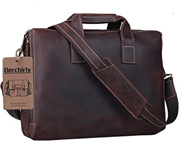 Berchirly Men's Laptop Messenger Bag Carrying Handbag