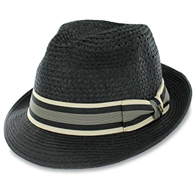 Belfry McFay - Open Weave Fedora Hat (Small) at Amazon Men s ... ef064d6a78a