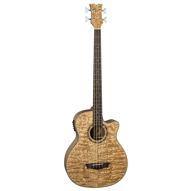 Dean EQA Exotica Quilt Ash Acoustic-Electric Guitar, Gloss Natural Dean Guitars EQABA GN