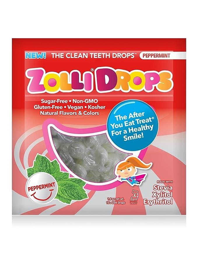 Zollipops - Limpiar los dientes Zollidrops menta ...