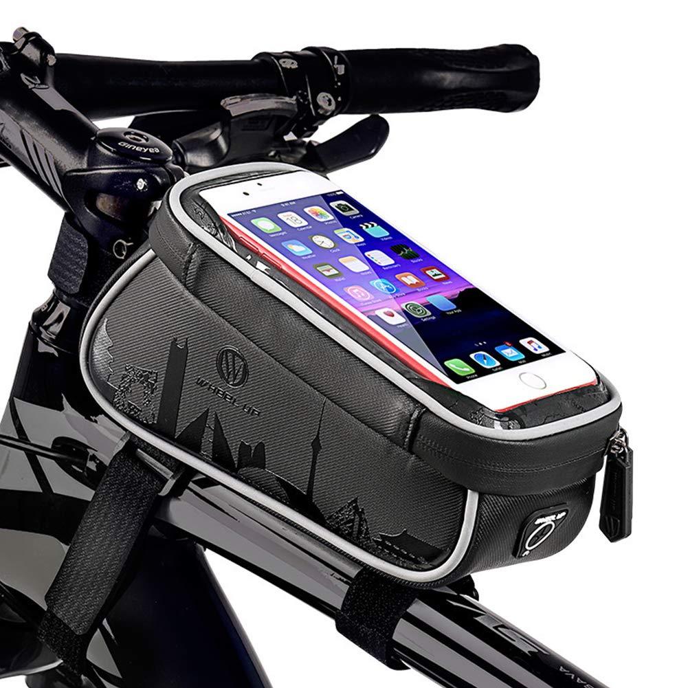 Elegant stunning 自転車用防水フロントビームバッグ マウンテンバイク用品 アクセサリー B07QYZS524
