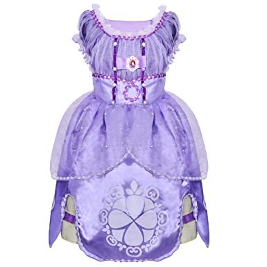 a633827fef2 Amazon.com  loel Sofia Deluxe Princess Custome Dress  Clothing