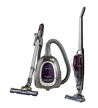 Bissell 1607 Hard Floor Expert Canister And Stick Vacuum COMBO Pack