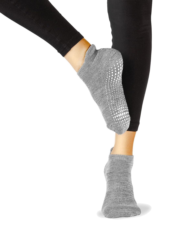 LA Active Calcetines Antideslizantes - Para Yoga Pilates Ballet ...
