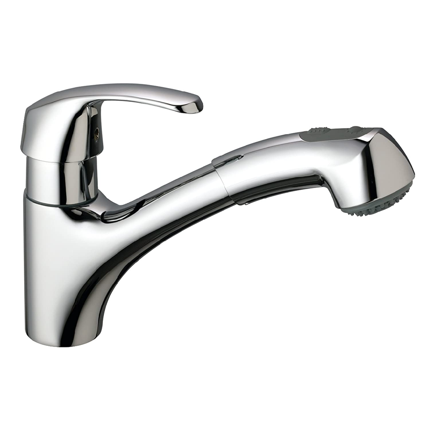 Alira Single Handle Pull Out Kitchen Faucet Touch Kitchen