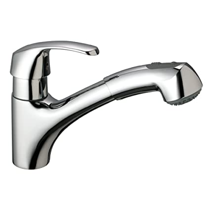 Buy Alira Single Handle Pull Out Kitchen Faucet Online At Low Prices