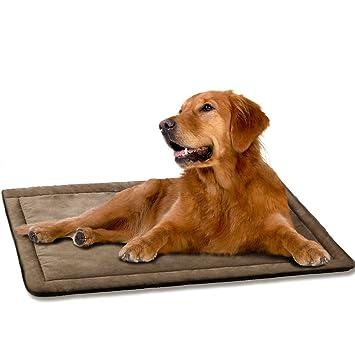 Amazon.com: DOGJOG - Almohadilla para perrera, lavable ...