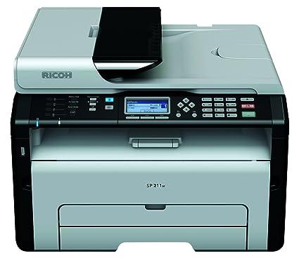 Ricoh Aficio SP211SF MFPB - Impresora multifunción láser (Mono, 22 ...
