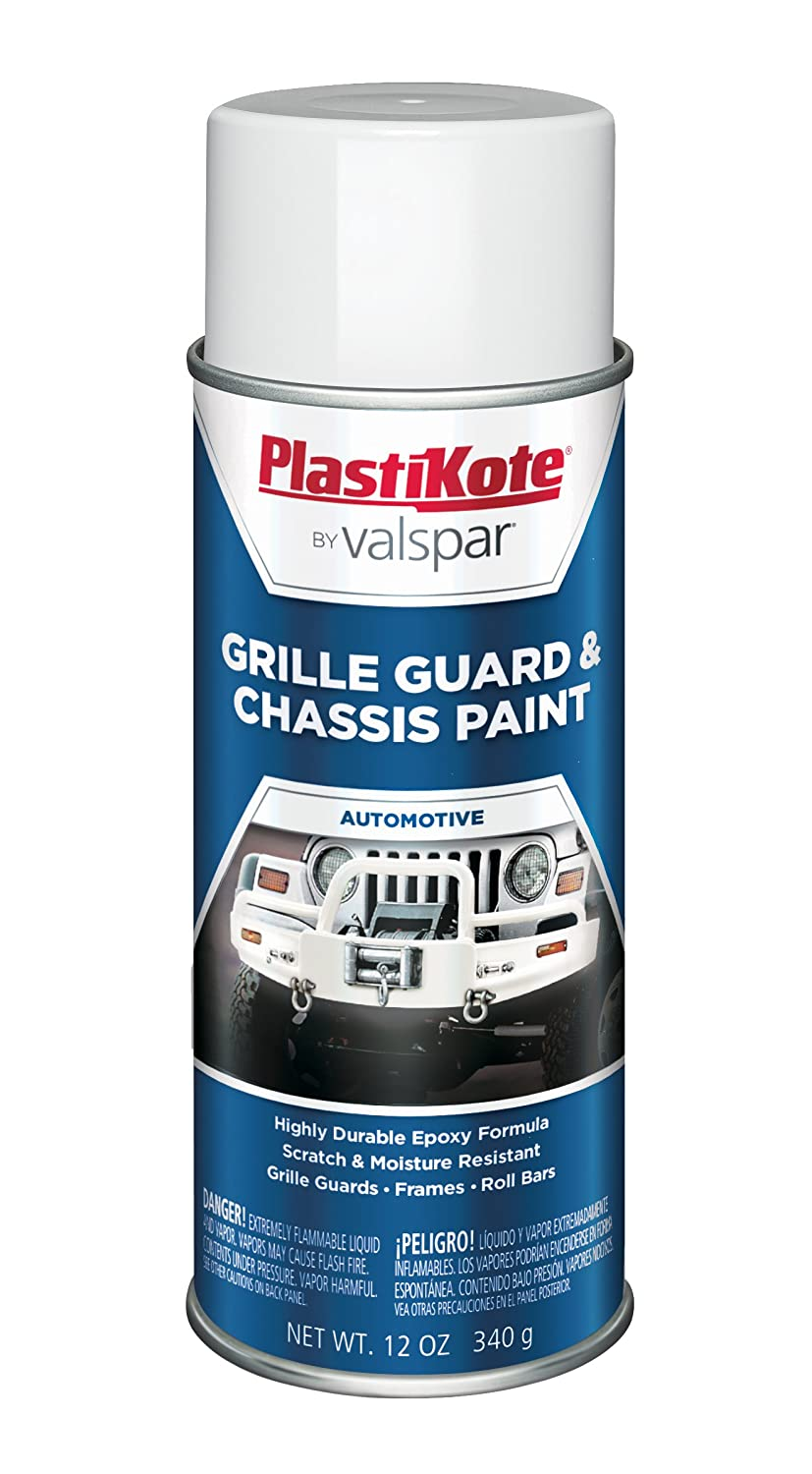Amazon.com: PlastiKote 191 Gloss White Chassis and Grille Guard ...