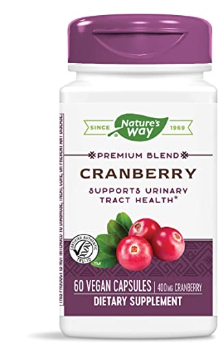 Nature's Way Premium Potency Standardized Cranberry 90 Fruit Solid