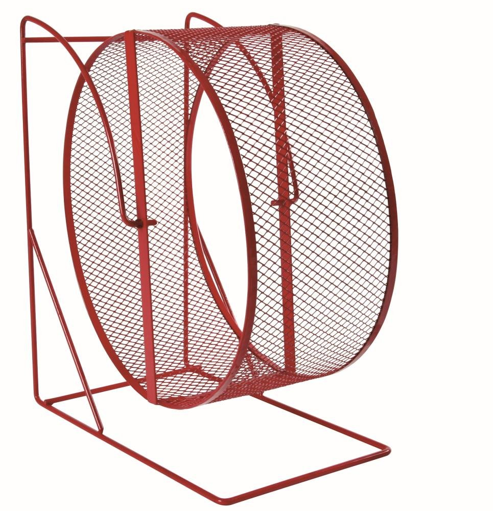 Trixie Roue d'Exercice Hamsters Degues Métal Surface Maille Fine Diamètre 28 cm 61003