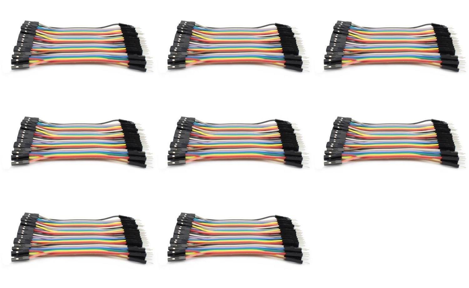 8 x Quantity of DJI S1000 Dupont 40 Qty 10cm 2.54mm 1pin Female to Male Jumper Wire Cables - FAST FROM Orlando, Florida USA!