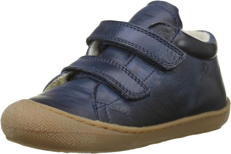Naturino Cocoon VL Chaussures de marche en cuir de veau avec imprim/é paillet/é Blanc