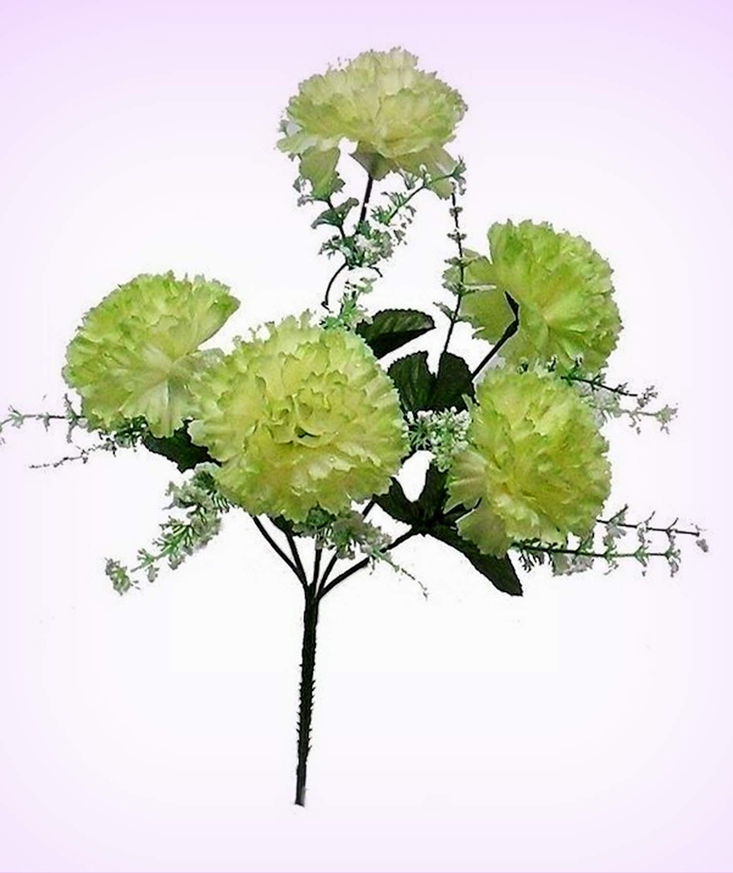 Inna-Wholesale Art Crafts New 5 Carnations SAGE Green Bouquet Centerpieces  Silk Decorating Flowers Decoration - Perfect for Any Wedding, Special ...