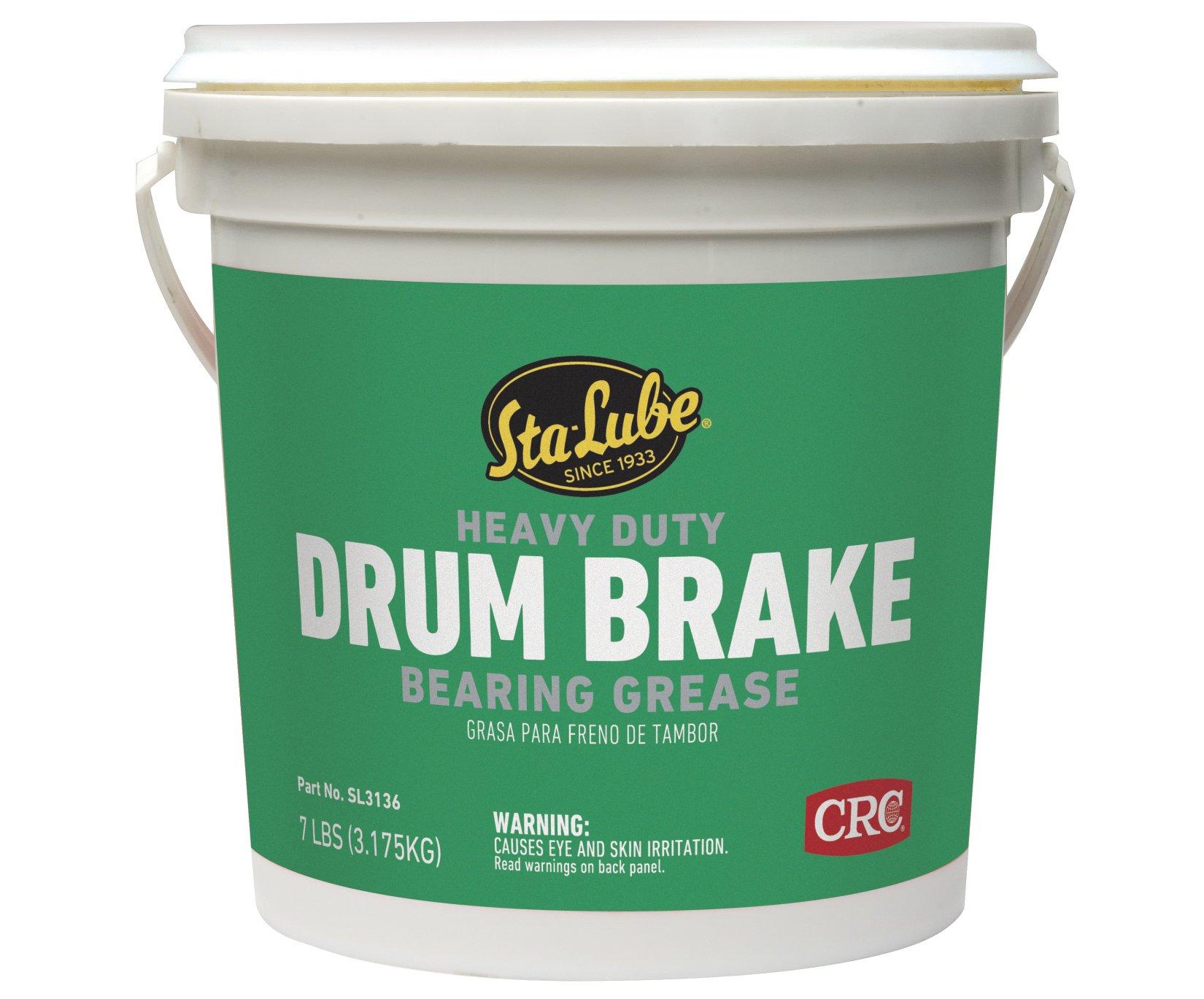 Sta-Lube SL3136 Heavy Duty Drum Brake Wheel Bearing Grease, 7 lbs. by Sta-Lube