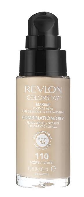 114 opinioni per Revlon Colorstay Foundation for combination/pelle grassa