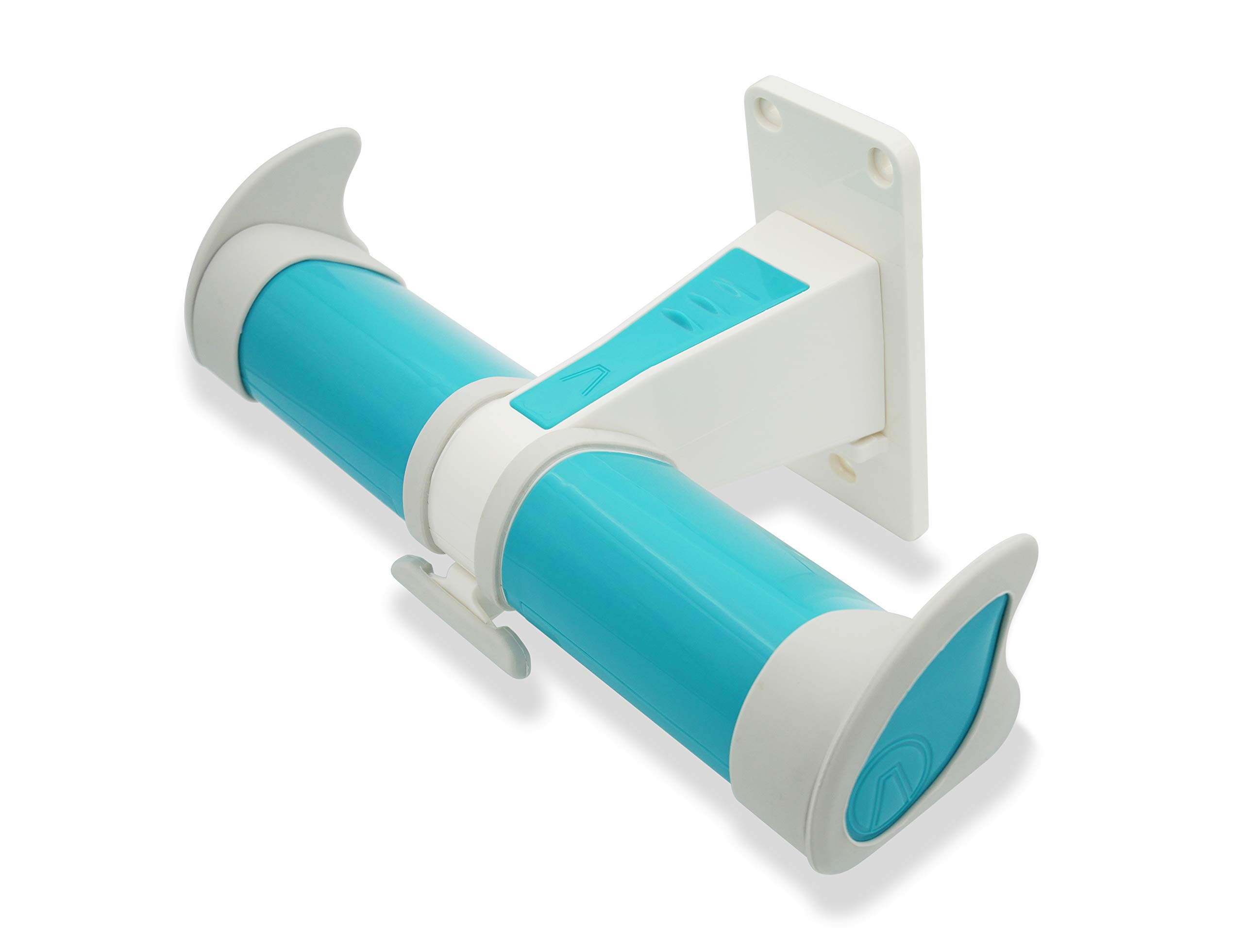 AIR Surf Rack - Surfboard Wall Rack Hanger - Vertical Stylish Minimalist Floating Display (Aqua Blue) by AFRAME