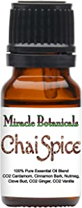 Miracle Botanicals Chai Spice Essential Oil Blend - 100% Pure Therapeutic Grade Essential Oils - 10ml