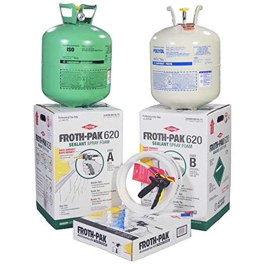 Amazon.com: Kit completo de spray de aislamiento Dow Froth ...