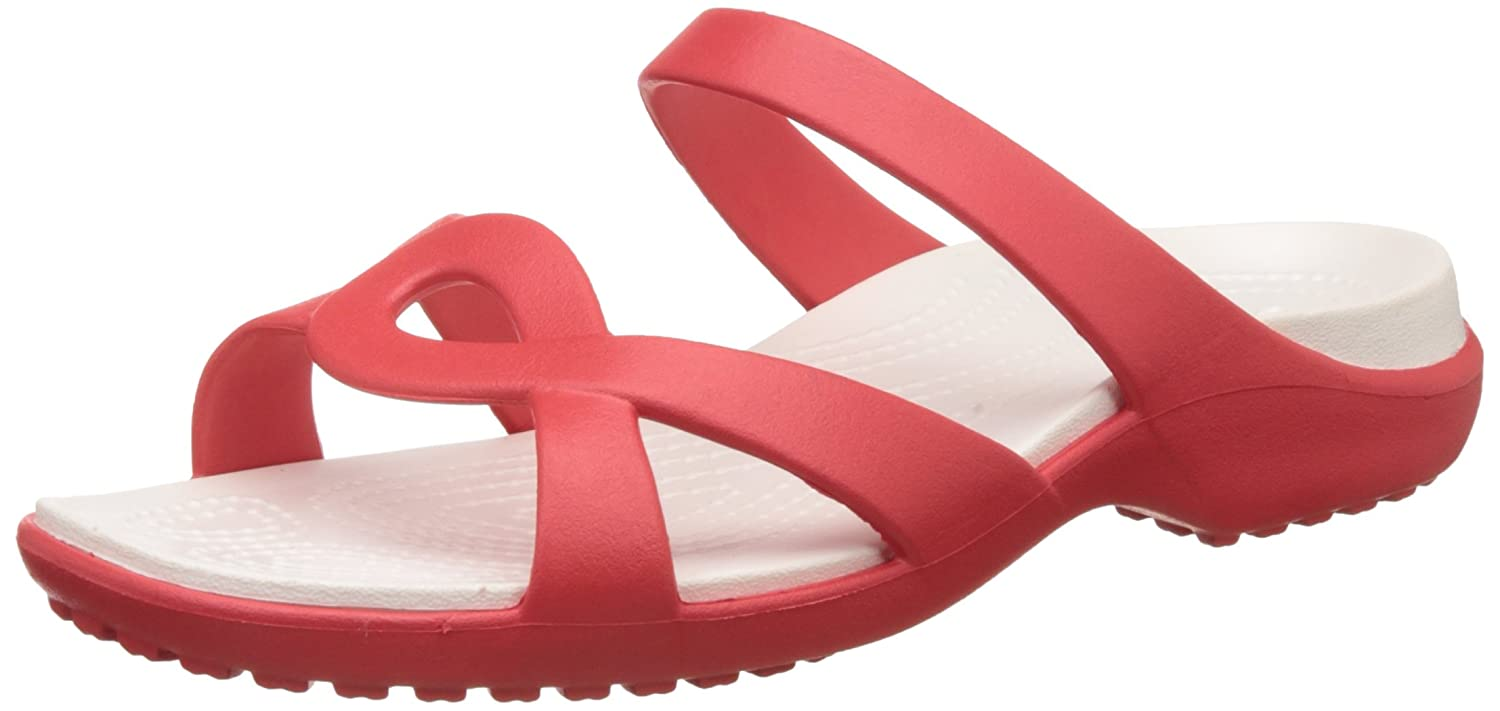 Crocs Meleen Twist, Sandales Twist, Bout Meleen Ouvert 12284 Femme, Pearl White/Oyster Flame/Oyster 622eef7 - fast-weightloss-diet.space