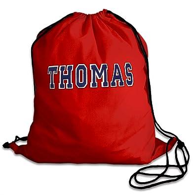 22141c5abae9 Personalised PE Bags  drawstring Bag Kit Bag Red cotton pump bag ...