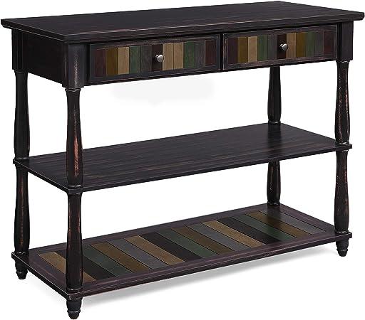 en. casa de Console Table avec 3 tiroirs table de coiffure Console armoire armoire table