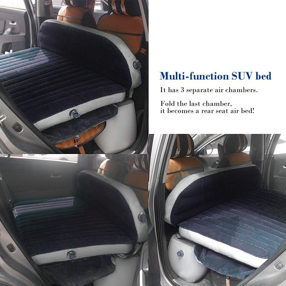 Version am/élior/ée du lit pneumatique pour Matelas Gonflable pour Voiture matrae pour Le Voyage etc IREGRO Matelas Gonflable de Voyage avec Pompe Le Camping