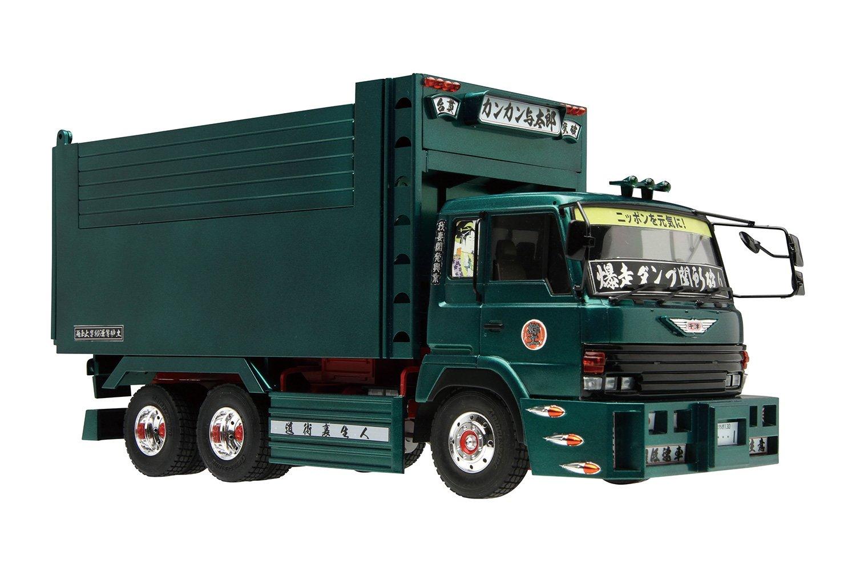 1/32 Value Decoration Truck No.13 mad liar (huge box of dump) (japan import) AOSHIMA