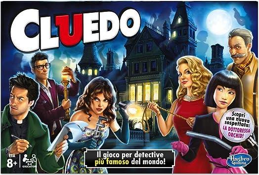 Hasbro - Juego de Mesa Cluedo (Idioma español no garantizado): Amazon.es: Juguetes y juegos