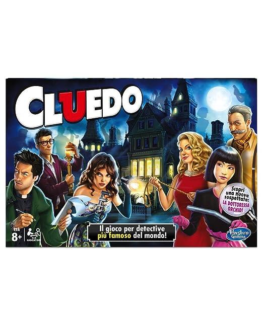 Hasbro - Juego de Mesa Cluedo (Idioma español no garantizado ...