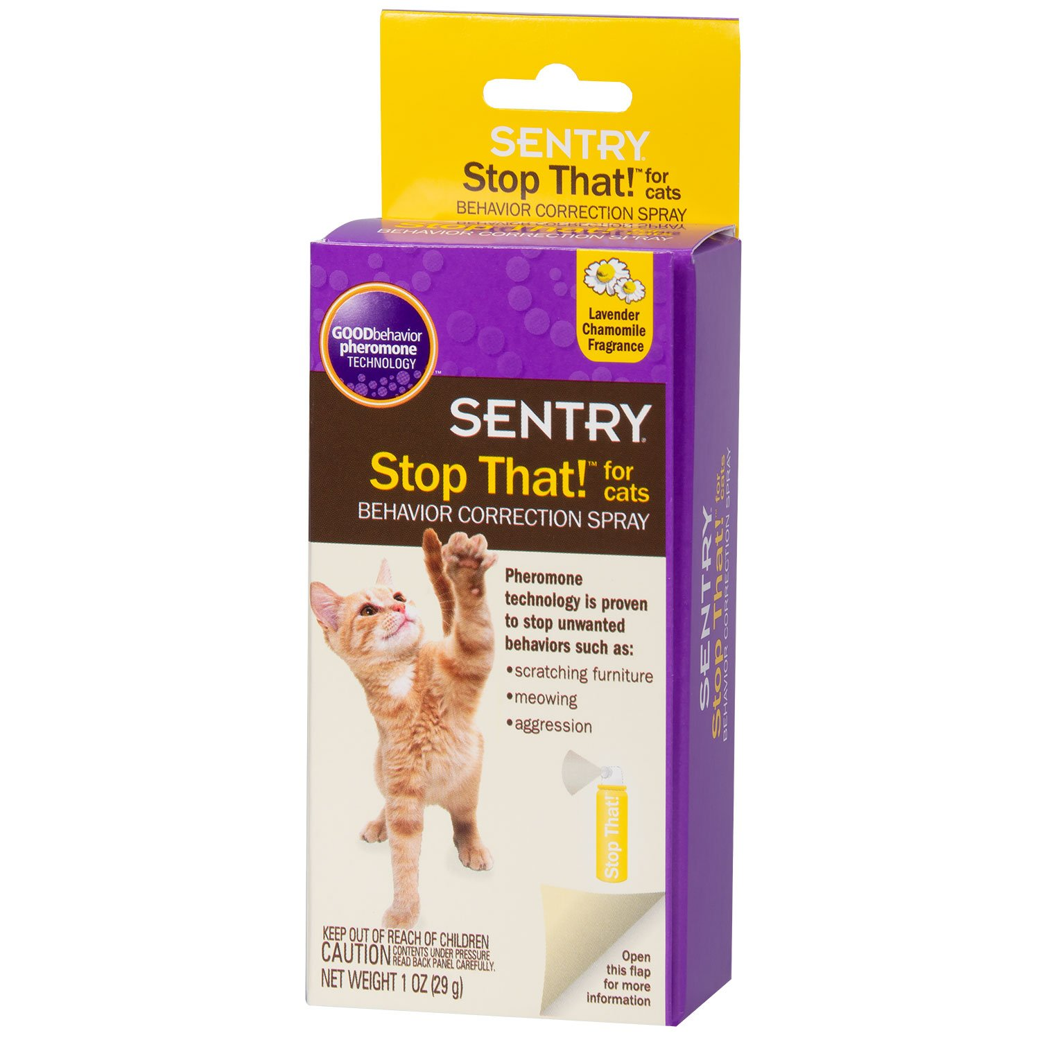 Excellent Sentry Stop That For Cats 1 Oz Home Remodeling Inspirations Genioncuboardxyz