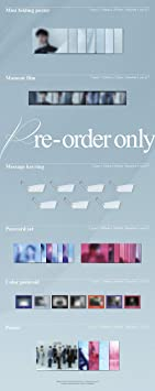 Pre Order Extra Decorative Stickers Random ver. CD+Photobook+Folded Poster+Others with Tracking Photocards 4th Album Breath of Love : Last Piece GOT7