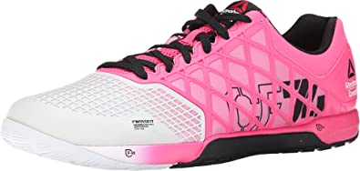 87ee71f99fe0 Reebok Crossfit Nano 4.0 Solar Mens Training Shoe 8 Pink-Porcelain-Black